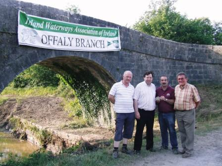 Tim Gerry Brian & Guest Ballycommon 2007