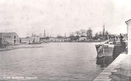 Horse Drawn Barges Carlow 1908