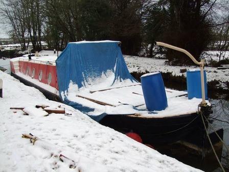 4B wheelhouse removed Winter 09 10