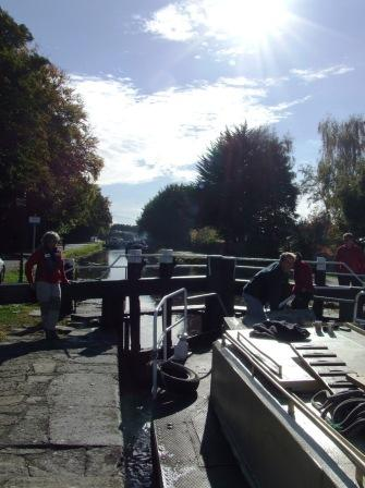 W10 107B in the lock Naas Line PM Oct 2010.jpg