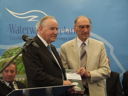 W16 Dr Ian Bath and Former Taoiseach Albert Reynolds by Paul Martin.jpg