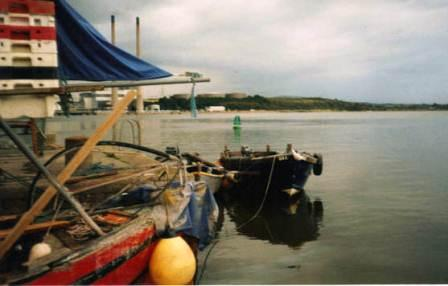 02W Salmon Punts at Cheekpoint Quay 1990s.jpg