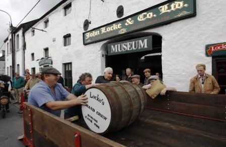 Loading the Casks - photo from IWS