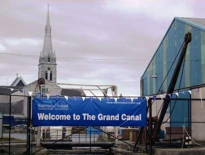Waterways Ireland welcomes all to The Grand Canal