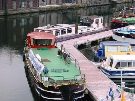 HB2 Dabu in Grand Canal Docks Dublin 2004