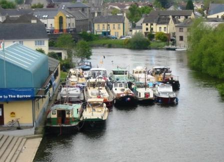 HBA Fleet outside Rowing Club Carlow 2005