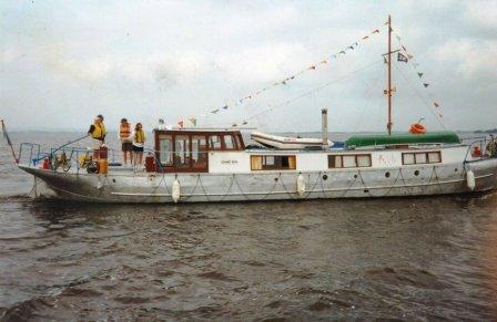 Chang Sha on Lough Derg 2001