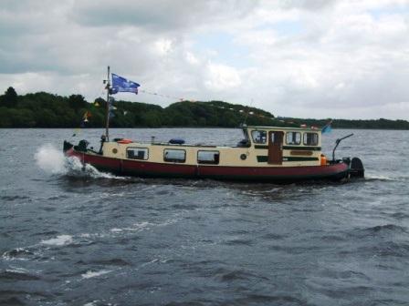 Johanna on Lough Derg 2008