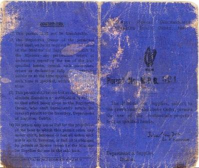 Emergency Powers Order 1944 MPB321 Cover