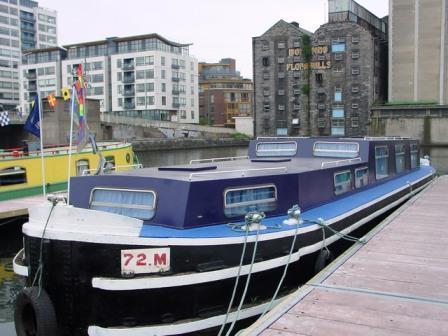 Grand Canal Docks 2004