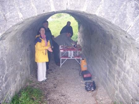 Preparing to Dine - Underneath the Arches 2005