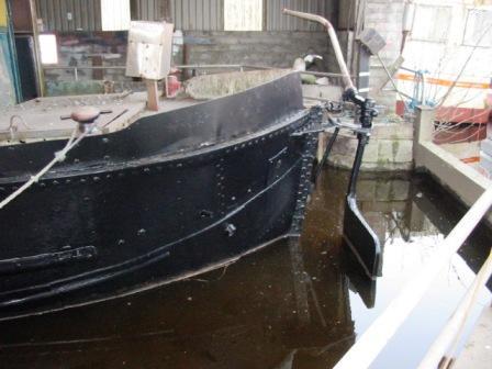 53M leaving dry dock Tullamore 2006