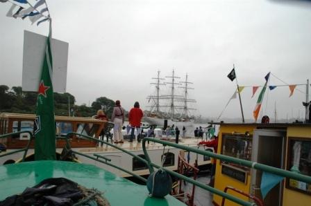 Start of Tall Ships Race 2005