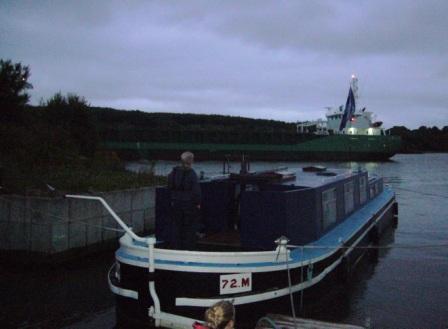 72M & Tanker on the night watch