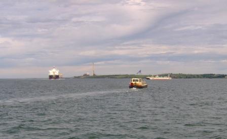68M & Ferry at Tarbert