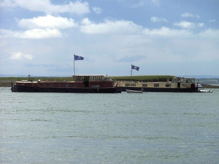 4B & 68M anchored off Scattery Island