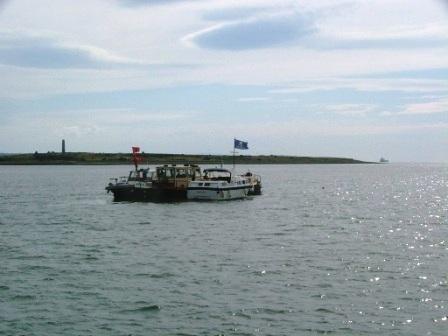 ElRoi 68M Highlander off Scattery Island for Tea & Scones