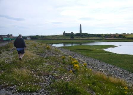 Stroll around Scattery Island