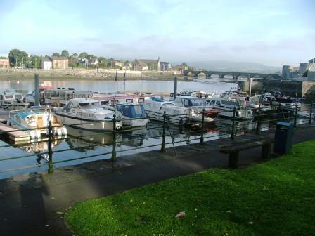 Limerick moorings in th morning
