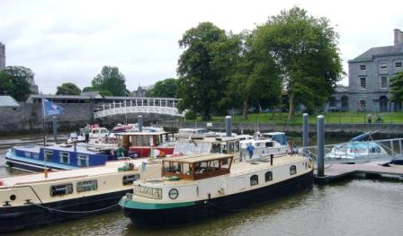 HBA Fleet all safely moored