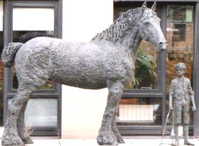 Barge Horse Sculpture Dublin