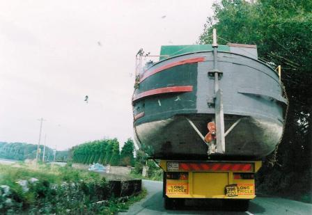35M on its way to the Dry Dock 1992