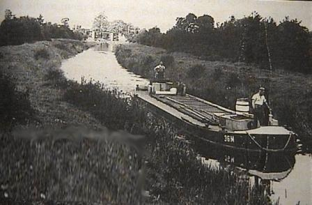 36M on the canal in 1957