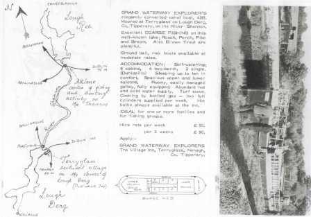 42B Brochure for Grand Waterways Explorers 1960s