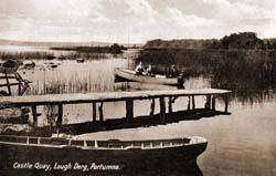 Portumna Castle Quay in early 1900s