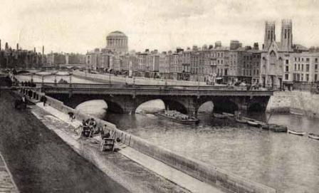 Liffey looking west 1900s