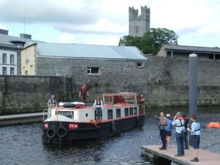 Arriving Limerick 2008