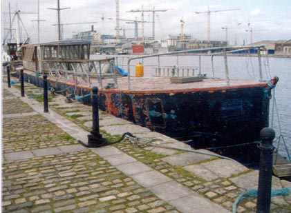 The Rambler during refurbishment in GCD Dublin